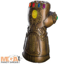 Deluxe Infinity War Gauntlet Adult Fancy Dress Marvel Avengers Costume Accessory
