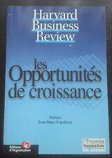 les opportunités de croissance de Harvard Business Review