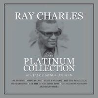 RAY CHARLES - PLATINUM COLLECTION  3 CD NEW