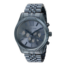 Michael Kors MK8480 Navy Blue Lexington Chronograph Men's Wrist Watch