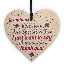 Gifts for Nanny Nan Granny Grandma Heart Sign Birthday Christmas Thank You Gift