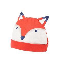 Ted Baker Baby Boy Hat Beanie Fox Orange Designer 6+ Months