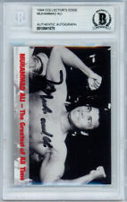 Muhammad Ali Autographed Signed 1994 Collectors Edge Card Beckett BAS #10841670