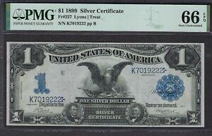Currency (US) - Fr#227 - $1 1899 SilverCertificate - GemUnc66 FrCatVal $1350.00+