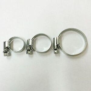 Schlauchschellen V2A W4 Edelstahl Bandbreite 9-13mm  Ø 10-16 bis 140-160 mm
