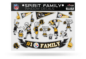 Spirit Family Window Decals Car Truck Vinyl NEW kids pets - Pick your team!