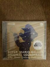 Super Mario Galaxy Original Game Soundtrack Club Nintendo Japan 2008