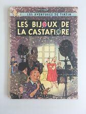 TINTIN - LES BIJOUX DE LA CASTAFIORE - BD en EO Française B34 - 1963  HERGÉ