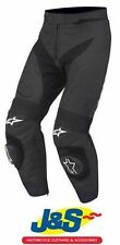 Alpinestars Leather Knee Motorcycle Trousers