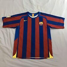 FC Barcelona Camiseta de fútbol Ronaldinho 2005 medio Original Nike