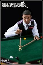 """1:6 Toys Power Snooker Pool Player Collectible 12"""" Tall Action Figurine TP-CT008"""