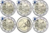 Deutschland 5 x 2 Euro 2013 Kloster Maulbronn Mzz A D F G J bankfrisch