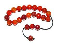 0004 Loose Strung Greek Komboloi Prayer Beads 19 x 10mm  Natural Agate Gemstone