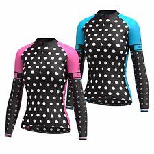FDX Women's Cycling Jersey Full Sleeve Roubaix Cold Wear Thermal Biking Jacket
