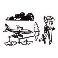 Sugarcraft Patchwork cutters- Aeroplane set