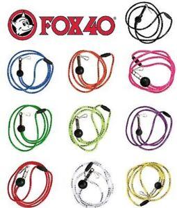 Fox40 Break-away Sicherheits-Pfeifenschnur für Schiedsrichterpfeife Pfeifenband
