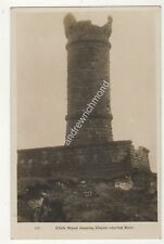 Crich Stand Showing Chasm Nearing Base Vintage RP Postcard Blount 701b