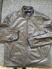Polo Ralph Lauren Lambskin Leather Jacket - Men's Medium ~ $600.00 Brown