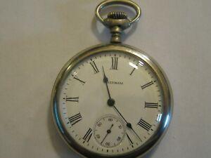 Waltham 16s 7j pocket watch Grade: No. 610 Model: 1908 (WORKING)