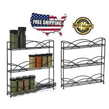Rubbermaid Kitchen In-Cabinet Pull-down Spice-Rack Storage Organizer Holder NEW