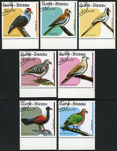 Guinea-Bissau 811-817, CTO. Birds, 1989