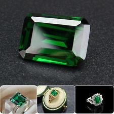 Brilliant 20.0Ct Fine Cut Colombian Green Emerald Loose Gemstone Christmas Gift