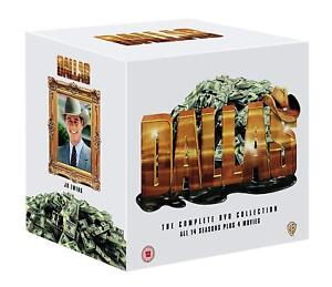 """DALLAS COMPLETE SERIES COLLECTION 1-14 + 4 MOVIES DVD BOX SET 105 DISCS """"NEW"""""""