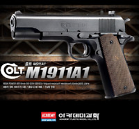 [ACADEMY] Colt M1911A1 17218 AirsoftPistol 6mm BBGun Toys Hand Grips ⭐Tracking⭐