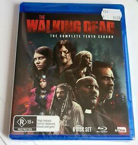 The Walking Dead - Season 10 Blu-ray, 2021 Region B ***BRAND NEW & SEALED***