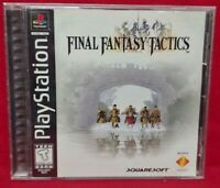Final Fantasy Tactics - Playstation 1 2 PS1 PS2 Game Complete Tested Working