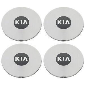 OEM NEW Wheel Hub Center Cap Set of 4 Silver w/Kia Logo 11-15 Optima 52960-2T300
