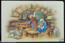 OLD BLESSED SACRED FAMILY HOLY CARD ANDACHTSBILD SANTINI        SEE MY SHOP C969