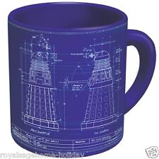 3745 Dalek Genesis Blueprint 16oz Ceramic Coffee Mug Cup BBC Doctor Who Villain