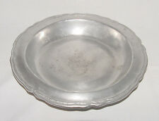 """Wilton Armetale """"Queen Anne"""" Pewter 10 1/2 Inch Serving Bowl!"""