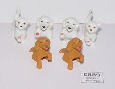 Vintage UK Exclusive Kelloggs BBC Animal Hospital Puppy in my pocket figures lot