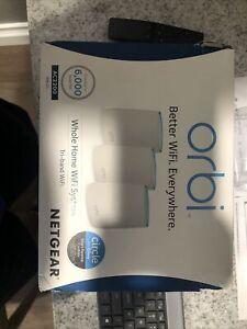 NETGEAR Orbi RBK23 Orbi Tri-band Whole Home Wi-Fi Bundle (Used)