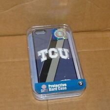NEW NCAA TCU Horned Frogs Hard Case Iphone 5 protective NWT