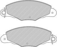 pastiglie freno / PEUGEOT 605 anteriori impianto brembo / TRW GDB 1410