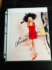 Authentic Alicia Silverstone Clueless Signed Autograph Photo w/COA, Free Ship