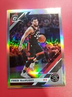 2019-2020 Panini Optic Holo Fred Vanvleet Prizm Silver Toronto Raptors No 9 hot!