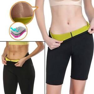 Hot Sweat Women Slimming Pant Thermo Neoprene Sauna Body Shaper Fat Burner Short