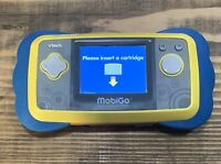 VTech MOBIGO Handheld Touch Learning System Video Game System Only Works Good