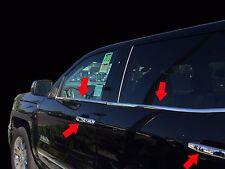 2014-2016 GMC Sierra Stainless Steel Window Sill Quad Cab