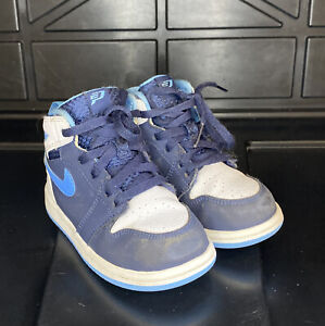 Jordan 1 High CP3 Baby TD 705304 402 Used Size 8C No Box Nike Air Blue White