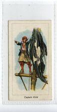 (JC9633-100)  CARRERAS,HIGHWAYMEN,CAPTAIN WILLIAM KIDD,1924,#20