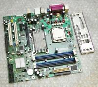 Intel DQ965GF D41676-305 Socket 775 Motherboard w/ CPU & Back Plate