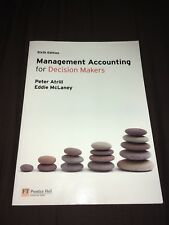 Management Accounting for Decision Makers by Eddie McLaney, Peter Atrill (Mixed