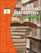 Achieving TABE Success for TABE 9 And 10: Achieving TABE Success in Reading...
