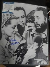 BARBARA WALTERS SIGNED 11X14 BECKETT AUTHENTICATION