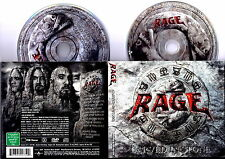 RAGE - CARVED IN STONE CD + DVD 2008 New RARE Digipack Limited Edition